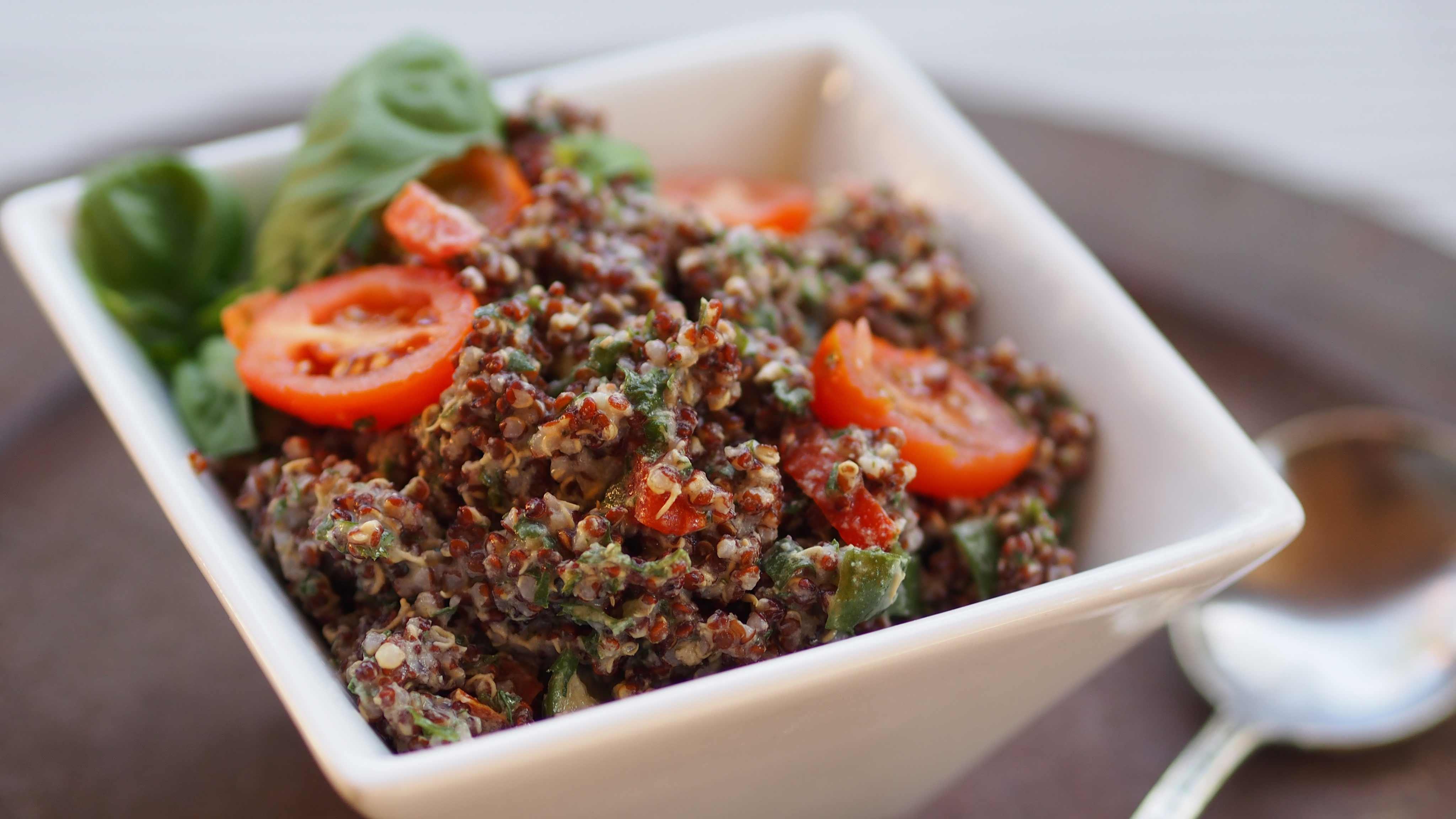 Image for Recipe Chilled Quinoa Salad