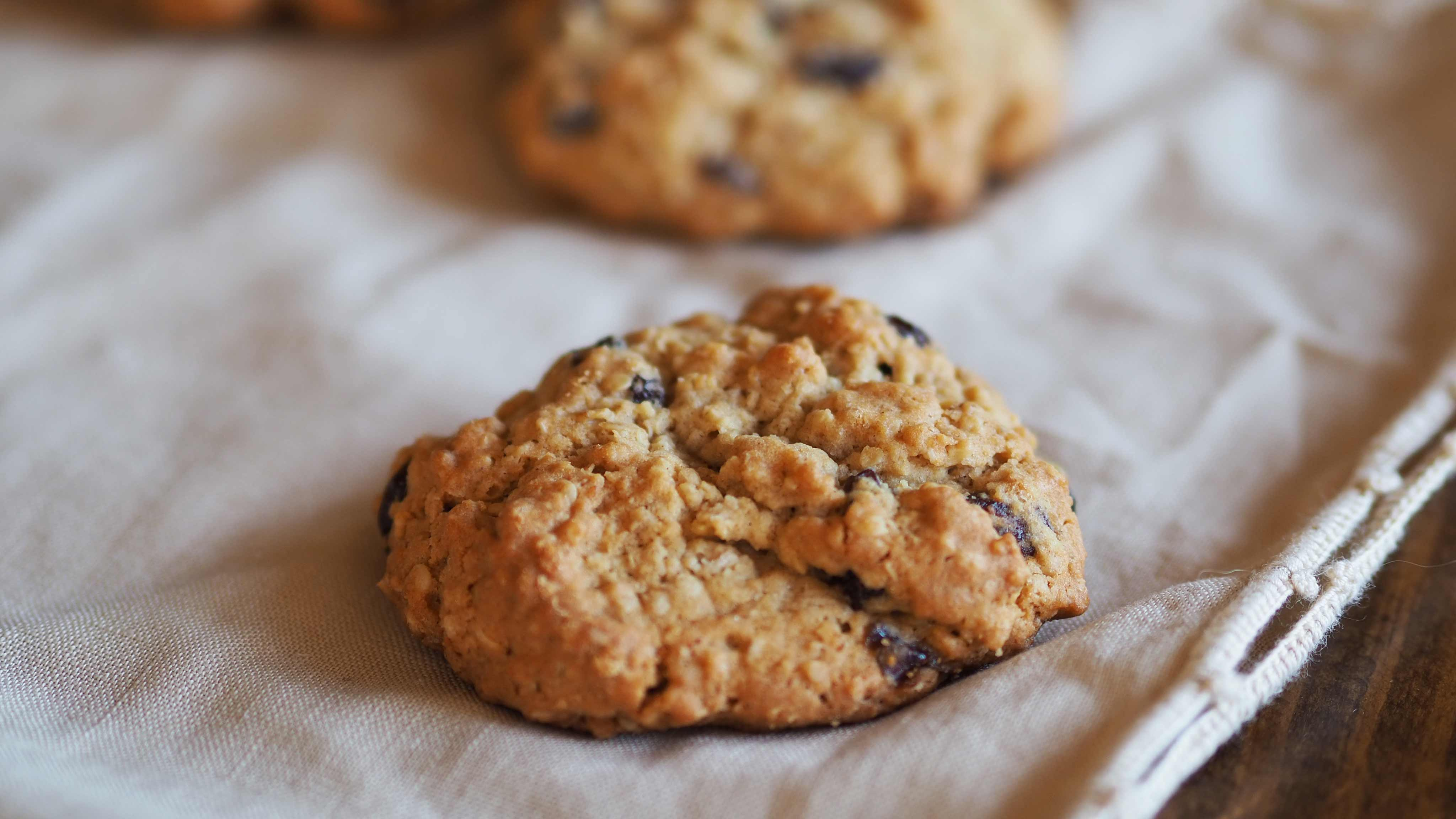 Image for Recipe Oatmeal Raisin Cookies